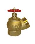 КПЛ-50-1 Клапан для пожарного крана 51 мм. латунь, угловой, 125г